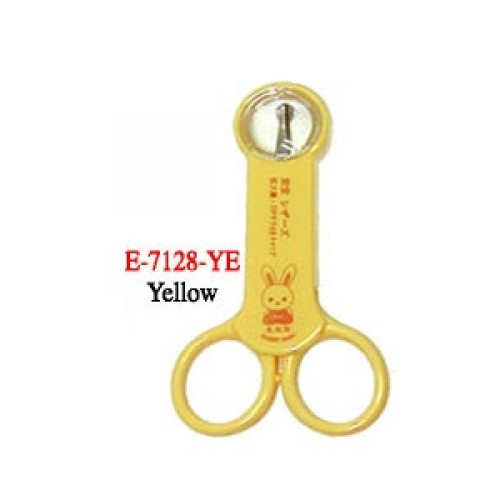 Scissors with Magnifier (Round Tips)